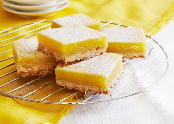 Fresh Lemon Bars are a zingy, bright treat, perfect with a cup of tea in the afternoon.