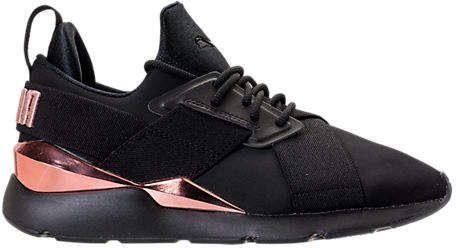 Puma Women's Muse Metallic Casual Shoes