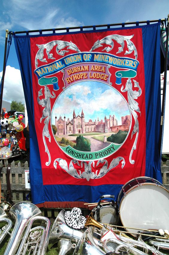 durham miners gala banners - Google Search: