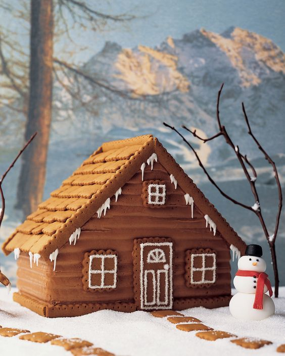 Use this recipe when making our Gingercake House.