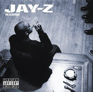 "Jay-Z ""The Blueprint"" album cover:"