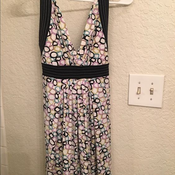 BCBG Cute Dress! Cute XS (also fits to a size medium) BCBG dress! Worn once for a couple hours at most. Extremely flattering and unique! Dress hem falls above the knee. BCBG Dresses Midi