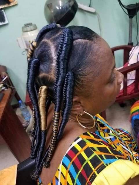 Pin By Hortense On Truc Hair Wrap Hair Styles Dreadlocks