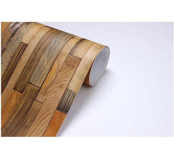Wood Panel Vinyl Self Adhesive Peelstick By