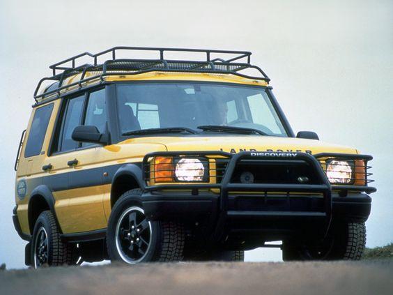 """Land Rover Discovery Series II """"Kalahari"""" '2001"""