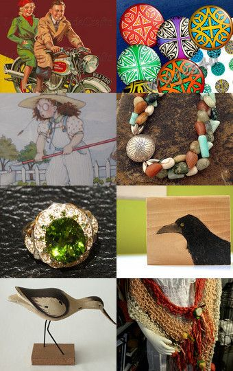 Glimpses - A Promote My Store Team Teasury by STOLA Saluki Rescue on Etsy--Pinned with TreasuryPin.com