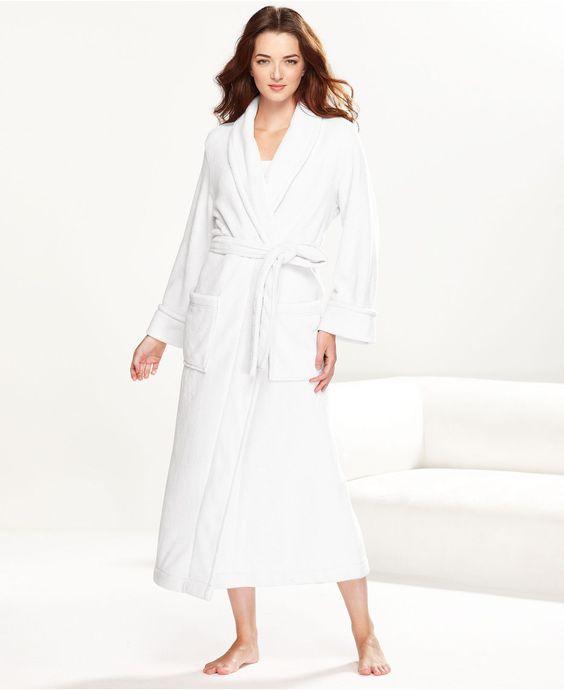 Charter Club Robe, Supersoft Long Robe - Womens PAJAMAS & ROBES ...
