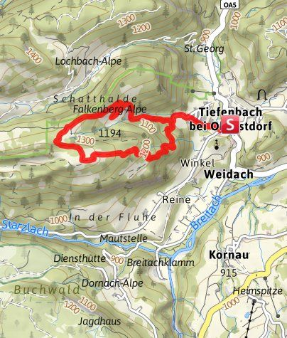 Karte / Geißberg