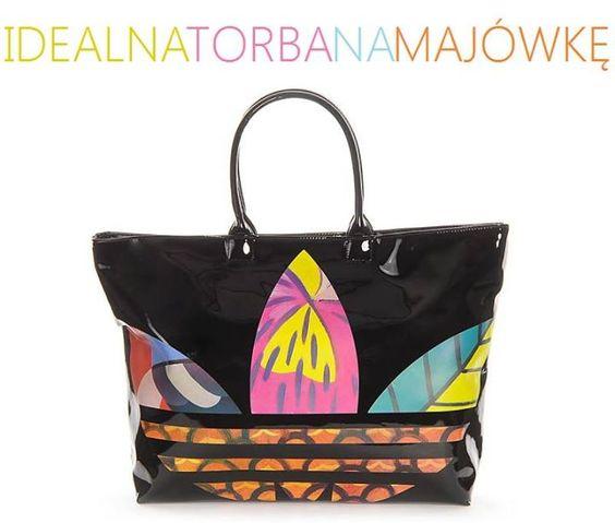 Weekend majowy coraz bliżej... jeżeli szukacie dużej, pakownej torby - ta jest idealna. Adidas Beach Shopper.