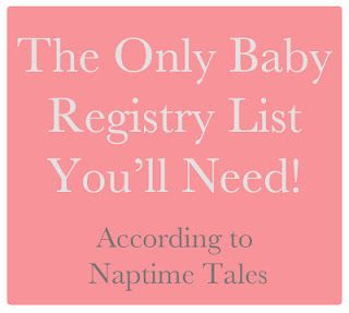 This should be helpful considering baby registry stuff is super overwhelming.