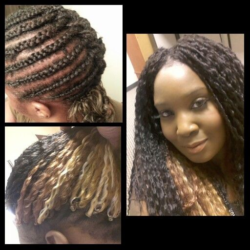 Crochet Hair Install : ... and more crochet braids box braids curls braids models crochet boxes