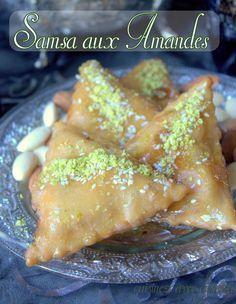 samsa recette aux amandes pate maison   la cuisine de djouza