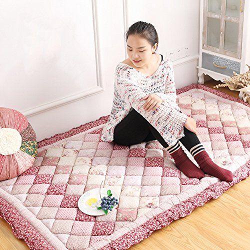 Gx Xd Korean Rural Cotton Tatami Floor Mat Folding Mattress Floor