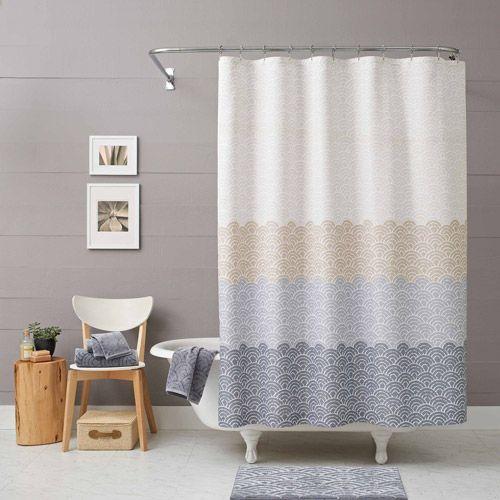Better Homes And Gardens Ombre Shower Curtain Walmart Com