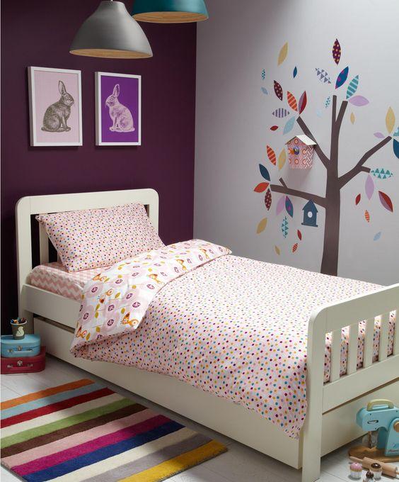 Patternology (Bird) - Single Bed Duvet Cover & Pillowcase Set - Bedding - Mamas & Papas