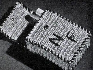 Free Crochet Pattern For Cigarette Case : Cigarette Case crochet pattern from Ideas for Gifts ...