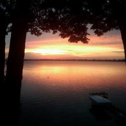I love staying at our cabin on the Lake in Clear Lake, Iowa. So peaceful, especially early in the morning at sunrise or in the evening at sunset