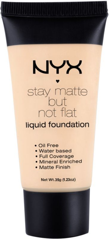 Nyx Cosmetics Stay Matte But Not Flat Liquid Foundation Ivory Ulta.com - Cosmetics, Fragrance, Salon and Beauty Gifts