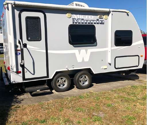 Check Out This 2015 Winnebago Minnie Winnie Listing In