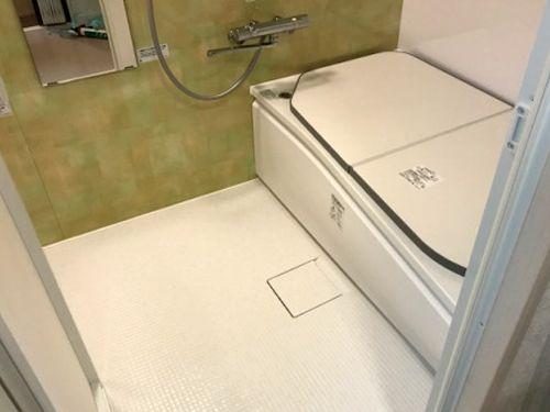 ひろがるwy ほっカラリ床 ユニットバス 浴槽 床