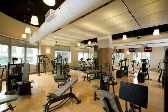 Gym Lighting Inspiration Modern Residential Apartment