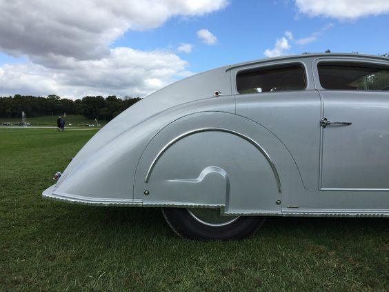 Avions Voisin C28 Aérosport Coupé de 1935.   Retour sur la 2ème édition du Concours Chantilly Arts et Élégance 2015   #reportage #car #voiture #automobile