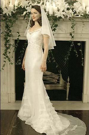Wedding dresses from sex and the city