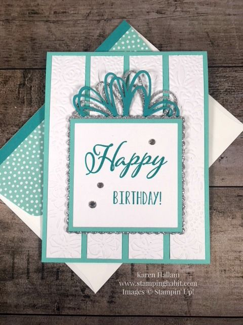Birthday Card Idea Sunshine Wishes Thinlits Petal Pair Embossing Folder Merry Christmas To All Lemo Birthday Cards Embossed Cards Stampin Up Birthday Cards