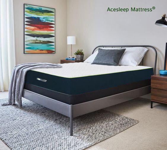 Acesleep 12 Gel Bamboo Charcoal Memory Foam Mattress Sleep Cool No Fiberglass 120 Days Free Trial In 2020 Mattress Best Mattress Sleep Mattress