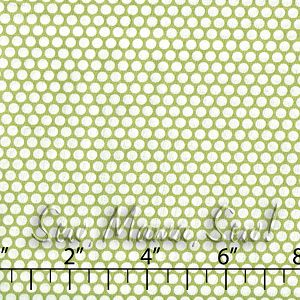Honeycomb Dot Green ~ Kei - @ Sew, Mama, Sew!