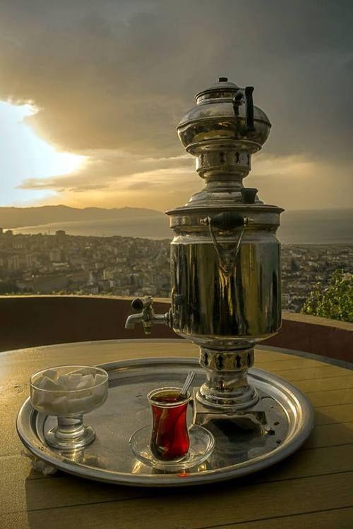 Türk Çayı, Té turco, Turquía