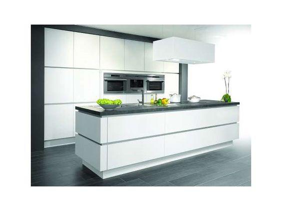 Keuken • modern interieur • kookeiland • www.dovykeukens.be ...