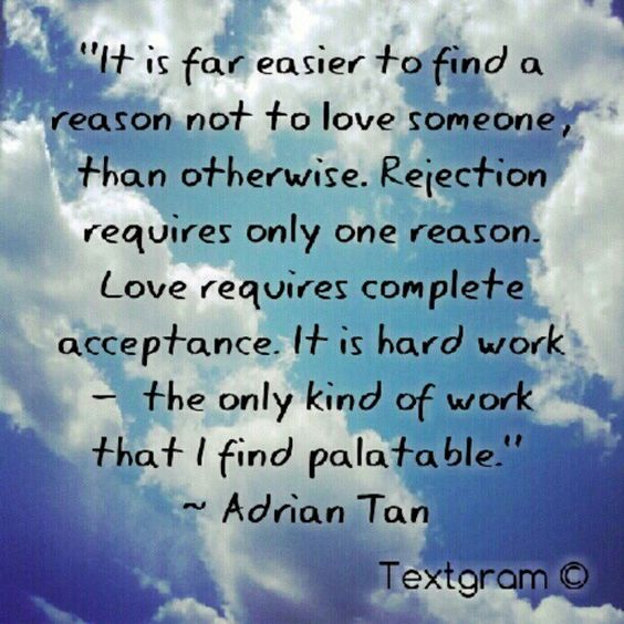 Love is hard work.. How perfect is this for me right now