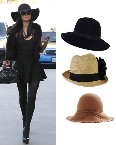 sombreros acorde a forma de la cara y estatura