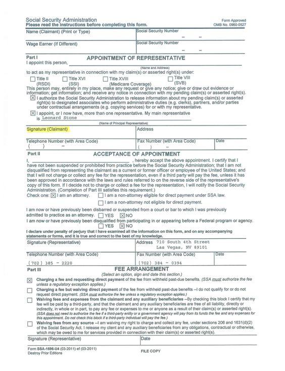 Sign Document  Social Security    Social Security