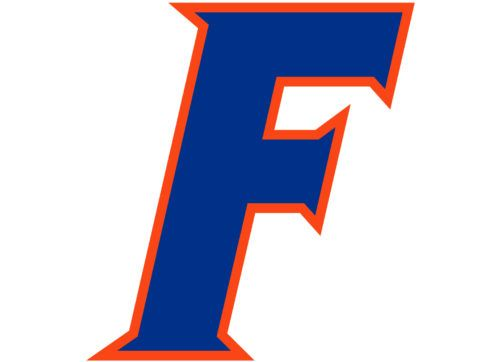 The Emblem Features A Capital Letter Florida Gators Logo Florida Gators Florida Football Teams