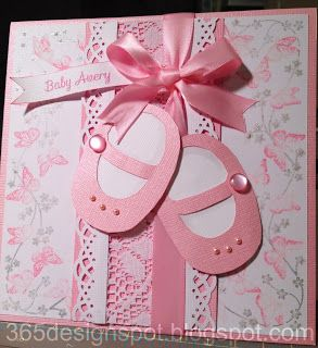 This card is perfect for the mom who's a dance teacher. #baby shower little #girl