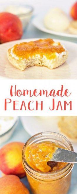 Eαsy Homemαde Peαch Jαm Recipe (No Pectin)