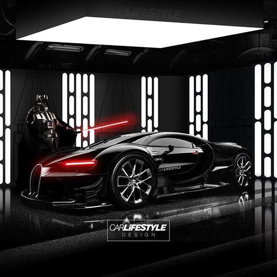 "luke, i have the bugatti chiron."" • design@gabe_carlifestyle"