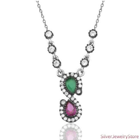Authentic Silver Necklace by SilverJewelryStore on Etsy, $36.00