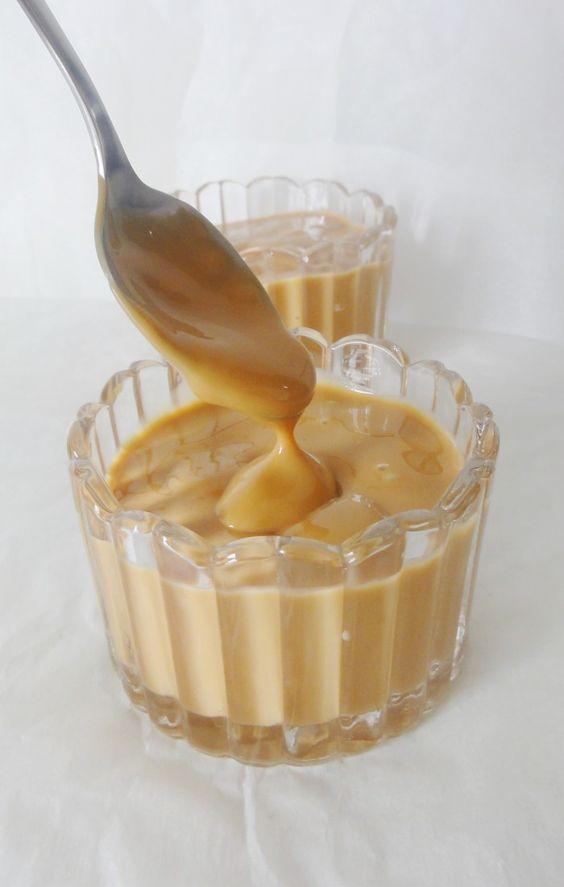 Crème dessert au caramel façon Danette