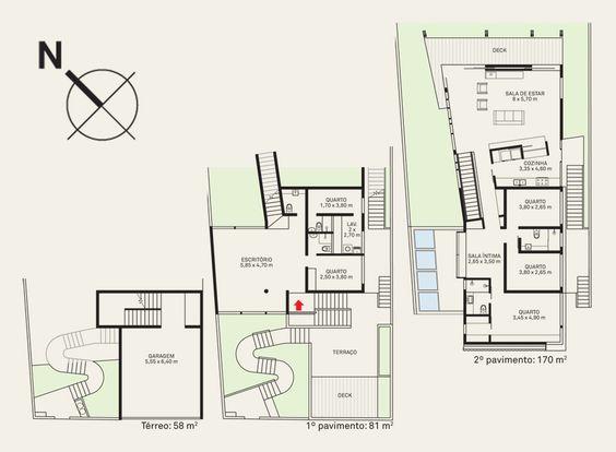 Casa de três pavimentos domou o terreno inclinado em São Paulo - Casa