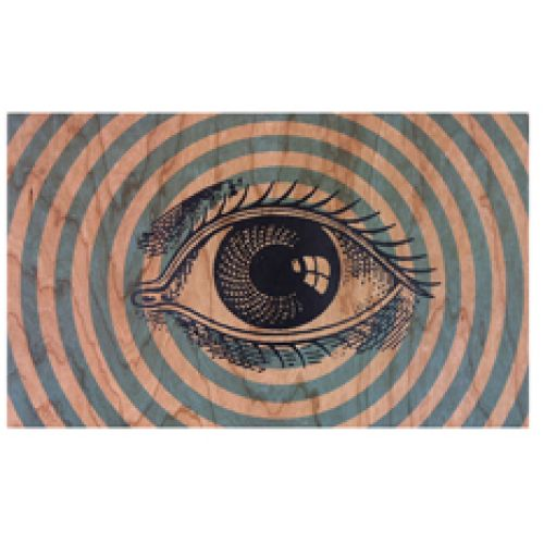 Wooden Wall Art - All Seeing Eye
