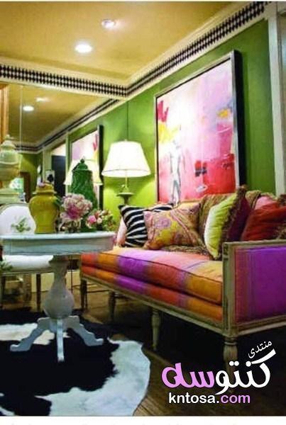 أتعلم و احترف الديكور و التصميم الداخلي Home Home Decor Colorful Interiors
