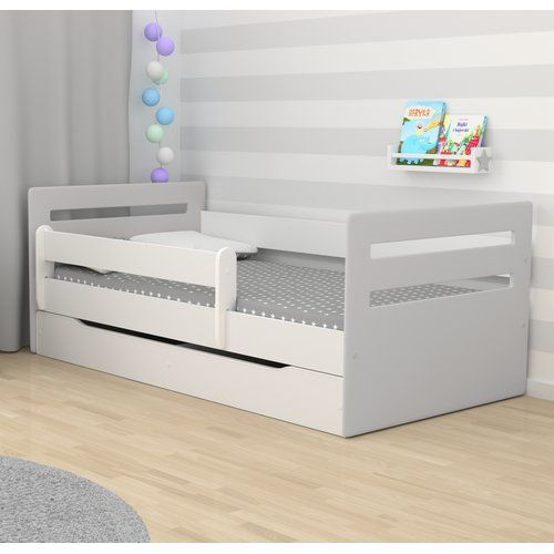 Cabin Bed With Mattress And Drawer Zoomie Kids Lying Surface 80 X
