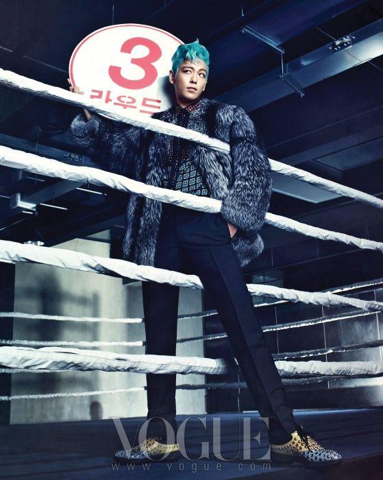 TOP ~ La classe à l'état pur  Vogue Korea