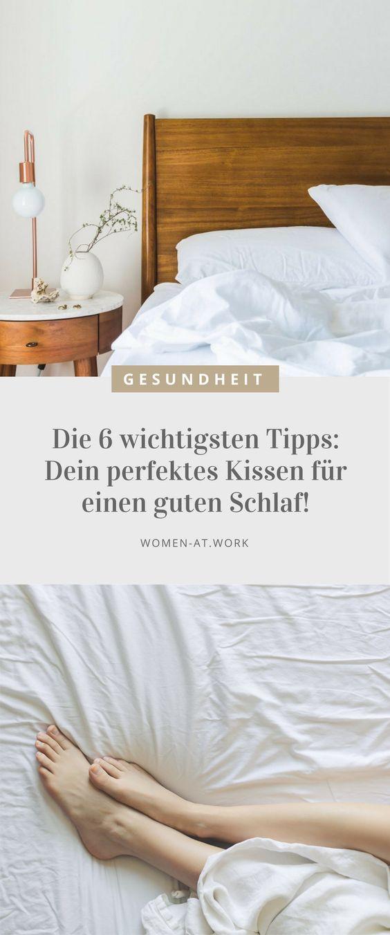 Um morgens richtig gut erholt aufzuwachen, ist das Kopfkissen ebenso wichtig wie die Matratze. Denn nur, wer nachts entspannt liegt, kann auch entspannt schlafen. Und so wird auch dein Kopfkissen perfekt: