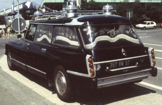 Tiburón Citroën funebre