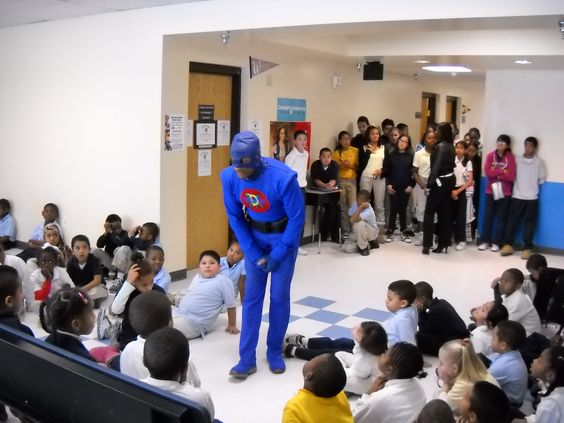 DANGERMAN tells the Kids to read more can open doors and scholastic awards.