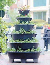 Flower towers installed in town centre | News in Maidenhead | Get The Latest Maidenhead Advertiser News